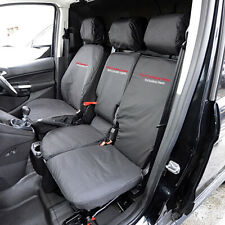 FORD TRANSIT CONNECT 2018 TAILORED HEAVY DUTY SEAT COVERS INC EMBROIDERY 007