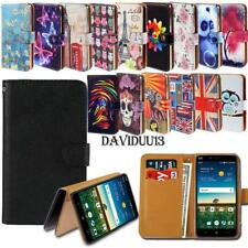 Leather Smart Stand Wallet Case Cover For Various ZTE Mobile phones