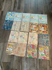 American Greetings Gift Wrapping Paper Lot Of 18