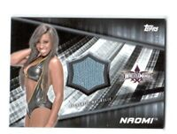 WWE Naomi 2016 Topps Divas Revolution Event Used Mat Relic Card SN 39 of 199