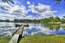 """Old Florida"" Waterfront Vacation Compound • Lake Cabin • Bunkhouse • Zipline"