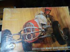 Strombecker Midget Racer Set W/Cars