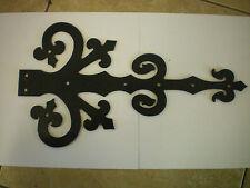 Black decorative false door hinges Dummy hinges (Royal Georgian)