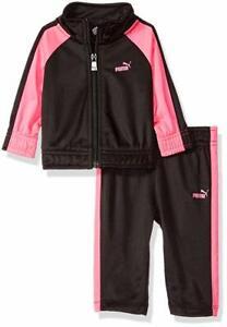 PUMA Baby Girls' Jacket and Pants Set
