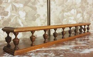 Decorative victorian carving shelf pediment Antique french architectural salvage