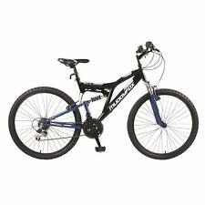 "Muddyfox Recoil 26 inch Mens Mountain Bike, Black/Blue 26"",18"" Frame,18 Speed"