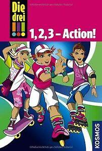 Die drei !!! 1, 2, 3 - Action! (Ausrufezeichen): Dreifac... | Buch | Zustand gut