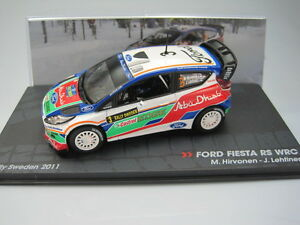 Vadis Pasione Rally Ford Fiesta RS WRC Hirvonen Rally Sweden 2011 -  IXO 1/43