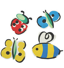 Lady Bugs Butterflies Bumble Bees Butterfly 25 Bug Wallies Wall Stickers Decals