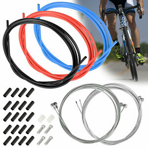 8 Pack Bicycle Brake Cables Shift Cables Se YASI Bike Brake Cable Shifter Cable