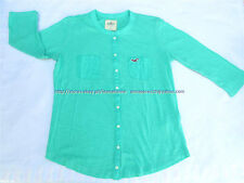 68% OFF! AUTH HOLLISTER WOMEN POCKET LOGO 3/4 SLEEVES TEE MEDIUM BNEW US$29.5