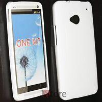 Cubierta De La Caja para HTC One M7 Silicone Gel TPU Blanco