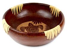 Super Geschenk SCHALE OBSTSCHALE Ton Keramik SCHÜSSEL Schildkröte Afrika