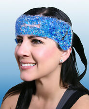 Migraine Relief Wrap Headache Pain Hot Cold Therapy Head Stress Tension Heat NEW