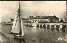50 CHERBOURG CARTE POSTALE GARE MARITIME VOILIERS