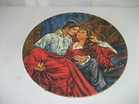 Gone With The Wind Collector Plate Scarlet & Rhett Signed 1978 Ltd Ed Knowles