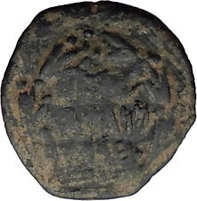 Jewish King ALEXANDER JANNAEUS Ancient Jerusalem WIDOW's MITE Bible Coin i62581
