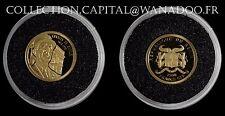 Bénin 1500 Francs CFA 2010 Charles de Gaulle OR 999/oo 1 gr