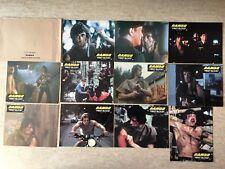 Rambo First Blood - 11 photos d'exploitation cinéma (Stallone) 1982 Lobby Cards