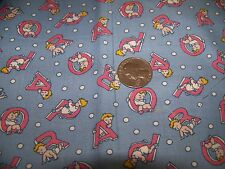 Baby fabric, 2 fat quarters, from Everything but the kitchen sink, new
