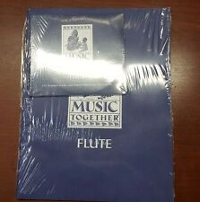 Music Together Flute CD, Resource Guide, & Family Music Zone Access Code NEW