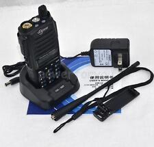 Support digital model UV100 UHF/VHF 10W Professional Two Way Walkie Talkie Radio