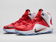 innovative design c752d d905e NIKE AIR LEBRON XII 12 HRT Heart of a Lion 684593-601 DS HOME SIZE