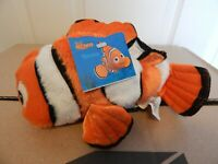 "DISNEY STORE MINI BEAN BAG NEMO PIXAR FINDING NEMO ORANGE 8"" STUFFED PLUSH NWT"