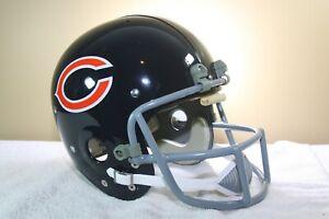 Chicago Bears Walter Payton Vintage Style Suspension Display Football Helmet