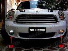 2x T10 W5W 9SMD LED Parking Lights Bulbs Sidelights White Xenon Free Error MINI