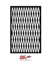 "HYDRO TURF Traction Mat Roll - Cut Diamond - Black/White 37"" x 58"" - No Adhesive"
