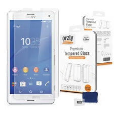 Orzly 0.24mm Premium Tempered Glass Screen For Sony Xperia Z3 Mini (WATCH VIDEO)