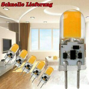 4-12X COB GY6.35 LED Glühbirne 5W Lampe Dimmbar Stiftsockel Warmweiß Kaltesweiß