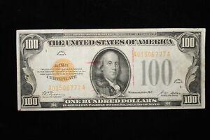 1928 $100.00 Gold Certificate