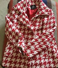 DEREON coat jacket  size SMALL ,RED