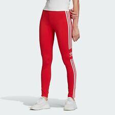Adidas Originals Women's Trefoil Tights Lush Red/White FM3309 d