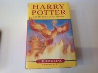 HARRY POTTER And the order of the Phoenix  1ST FIRST EDITION HARDBACK BOOK