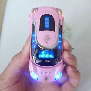 W8 Sport Car Mini Cell Phone  Unlocked Quad Band Dual SIM T-Mobile phone New