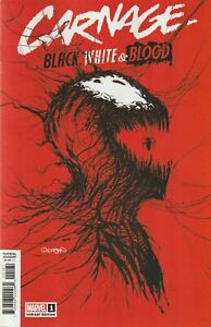 Carnage, Black White & Blood # 1 Gleason WEBHEAD Variant Cover NM Marvel