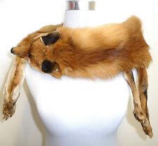 VINTAGE Rotfuchs Pelzstola Stola Pelzkragen Kragen red fox fur collar Stole