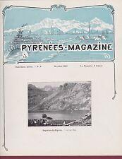 LIVRE - 200116 - Revue PYRENEES MAGAZINE Octobre 1925 - N°9