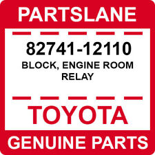 82741-12110 Toyota OEM Genuine BLOCK, ENGINE ROOM RELAY