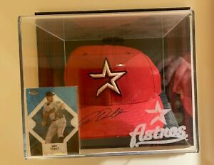 Roy Oswalt Houston Astros Signed Hat - PSA/DNA Authenticated