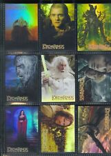 TC 2004 Lord Of The Rings RotK Hobby Japan Exclusive Foil Chase Card Set #1-10