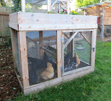 Chicken/Rabbit Run Plans: The Garden Run Half-Height eBook on USB Flash Drive
