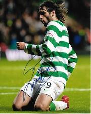 Georgios Samaras Celtic Glasgow FC Greece auto 8x10 photo w/COA