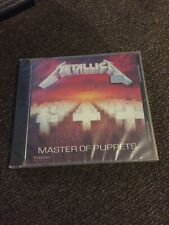 METALLICA - MASTER OF PUPPETS CD New