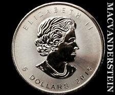 Canada: 2015 Maple Leaf 1 Oz .999 Fine Silver #V7624