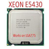 INTEL XEON E5430 2.66GHz 12M 1333Mhz CPU Processor Works on LGA775 motherboard