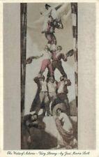 C-1910 Waldorf Astoria Ser Room Hotel Restaurant New York Postcard 20-7903